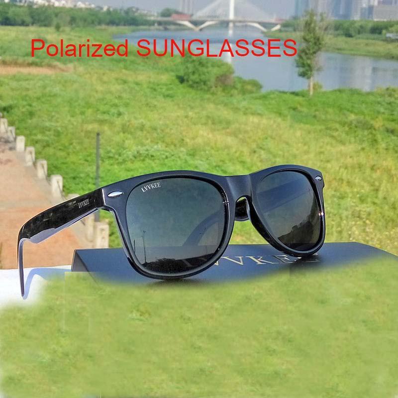 2018 Lvvkee Marke Hochwertige Mode Männer Und Frauen Polarisierte Rahmen Fahren Sonnenbrille Uv400 Anti-sonnenbrille 2140