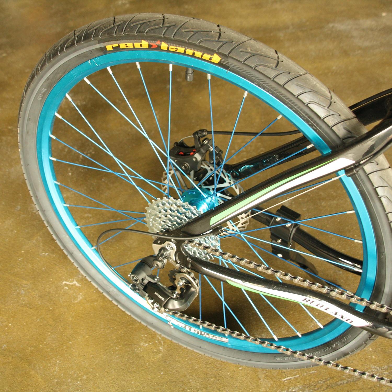 Neumáticos de alta velocidad Ultra ligeros Redland para bicicleta MTB 54 TPI montaña MTB neumático de bicicleta de 26 pulgadas 1,95 de goma de alta calidad