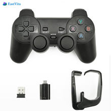 EastVita Wireless Gamepad PC For PS3 Android Phone 2.4G Joystick Joypad Game Pad For PC Xiaomi OTG Smart Phone(China)