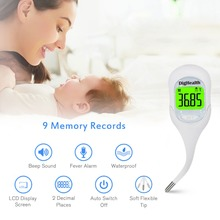 Digital Oral Thermometer Basal Body thermometre for Ovulation Calculator Fertility Tracking for Family Planning