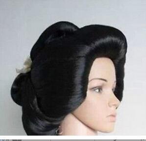 Parrucca парик Япония черный странные приключения камень океан блондинка синий вьющиеся длинные волосы женщины Косплэй джапа Les cheveux парик
