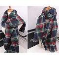 Famous Brand  Plaid Scarf Women Cachecol Fashion Women Winter Scarf Warm Shawls Scarves Soft Foulard MF7489213