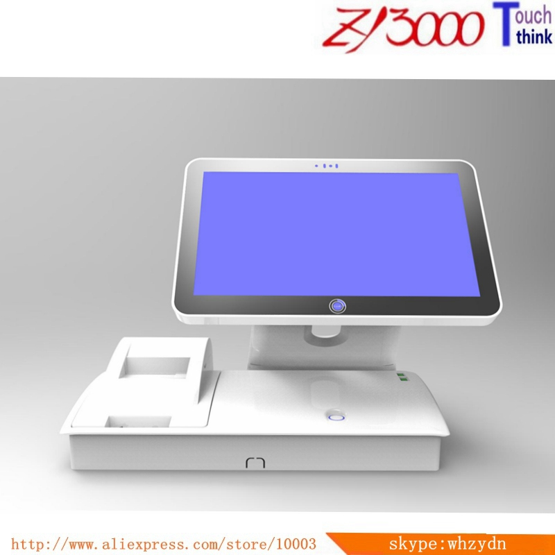 2020 Hot Sale New Stock 15.6 Inch I5 CPU 8g Ram 128G SSD Build In 58 Mm Printer All In One Pos Terminal