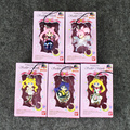 5 Unids/lote Sailor Moon Tsukino Usagi Sailor Mars Venus Mercurio Júpiter Saturno PVC Figure envío libre