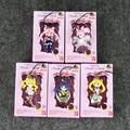 5Pcs/Lot Sailor Moon Tsukino Usagi Sailor Mars Mercury Jupiter Venus Saturn PVC Figure free shipping