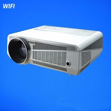 Revista latest RJ45 Ethernet Interface,1280*800 3500 Lumens HD Home Projector Build-in Wifi 4.2 1080P LED 3D Projector