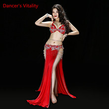 Underpants Belt Skirt Dance-Suit Belly-Dance-Performance Oriental Women Sexy New Bra