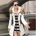 Winter Women Jacket Warm Hooded Women Coats 2017 Cotton Down Coat Fur Clothing For Female Winter Jacket Outwear Wadded Coat