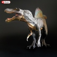 33x10x15cm Jurassic Park Spinosaurus Dinosaur Figure Toy Collection Animal Model Kids Educational Toy For Children Birthday Gift
