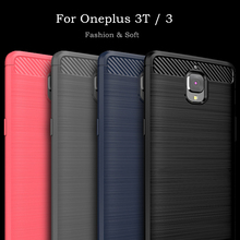 For OnePlus 3t Case Oneplus 3 Cover Soft Silicone WolfRule Brushed Sty