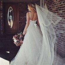 새로운 신부 베일, 빗을 가진 결혼식 베일, 대성당 아이보리 베일 블러셔 2 인치 horsehair 손질, 108 인치를 가진 2 층 베일