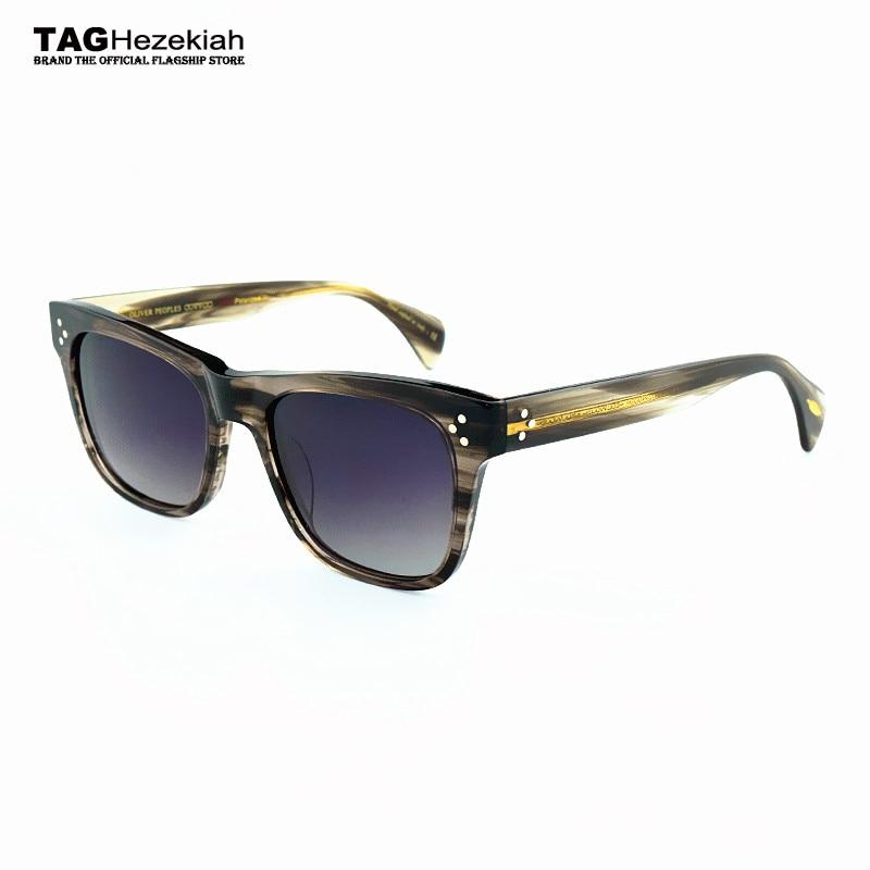 Rétro lunettes de soleil femmes lunettes de soleil hommes 2018 Nouveau  polarisées lunettes cadre tag Ezéchias 127955259bba