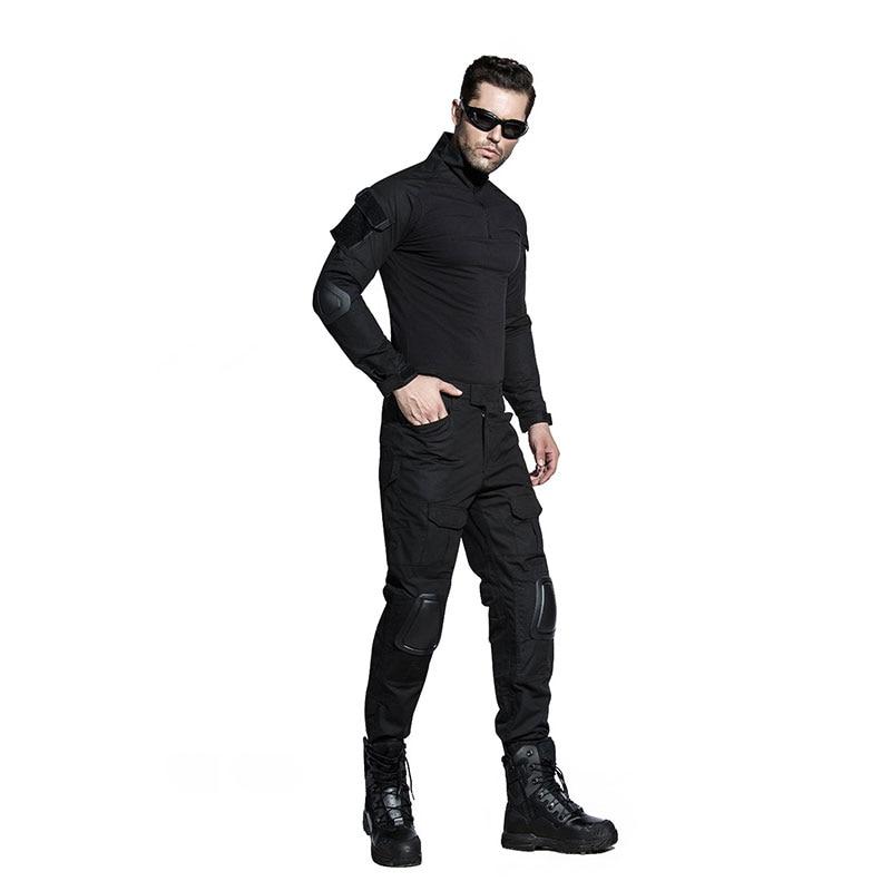 SABADO pantalon militaire homme With Knee Pads Camouflage Military Tactical Pants pantalon cargo homme