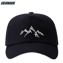 2019 New Mountain Range Printed Men&Womens Baseball Caps Adjustable Snapback Summer Fashion Outdoor Sport Sun Hats Dad Hat