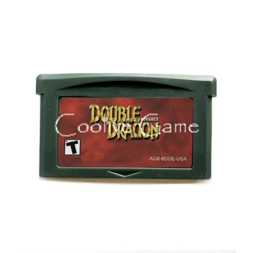 Double Dragon USA Version for 32 Bit Handheld Console Video Game Cartridge Console Card