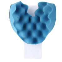 Travel Neck Pillow Theraputic Support Tension Reliever Neck Shoulder Relaxer Massager Pillow Soft Sponge Releases muscle Pillow 3