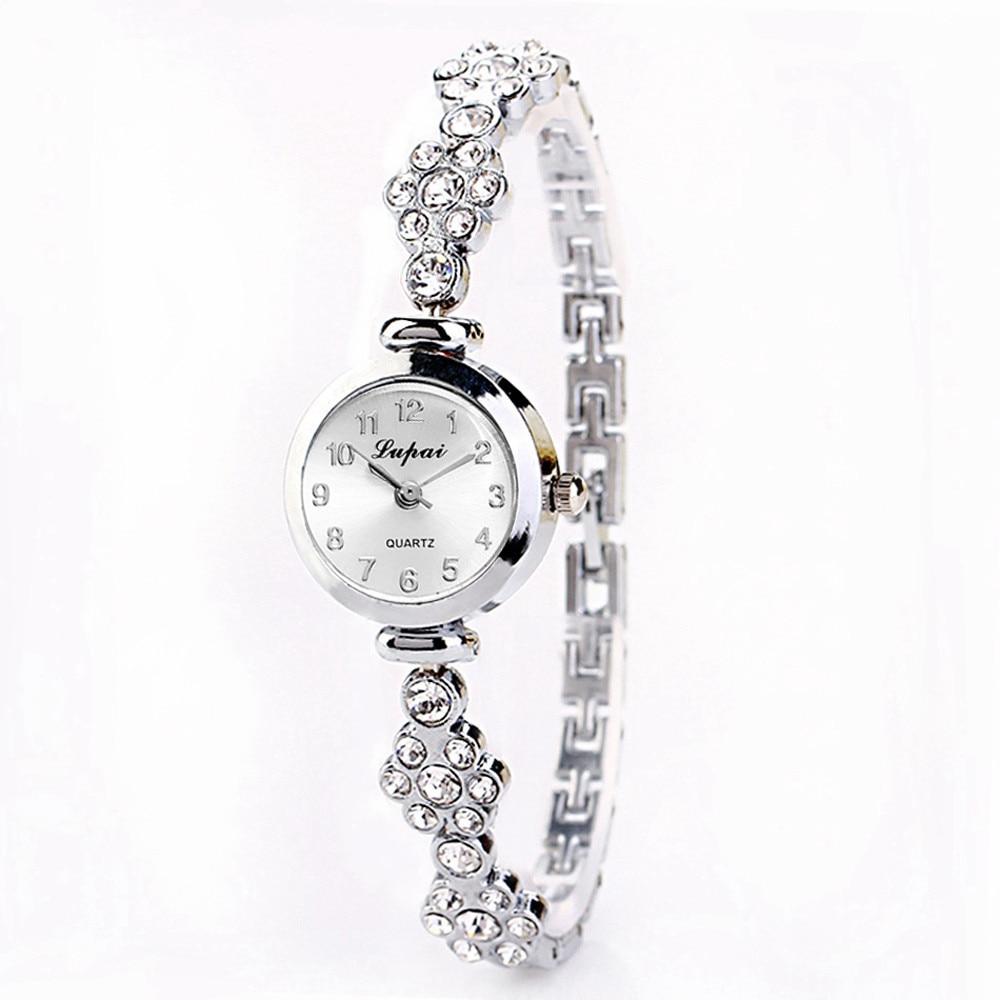 Uhren Damen Armband Uhren Mode Luxus Frauen Uhr Berühmte Marken Damen Edelstahl Strass Handgelenk Uhren Reloj Mujer # Z Hindernis Entfernen