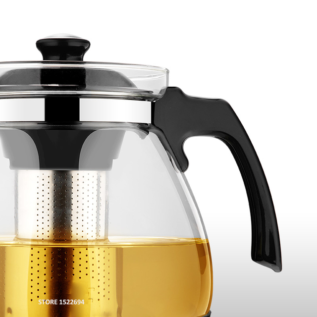 Fashion Glass Teapot Tea Kettle
