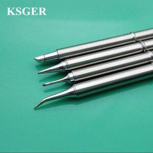 Image 1 - KSGER soldador electrónico de 220v, 70W, t12 bc1, T12 BC3, JL02, C08, puntas de pistola para soldar, punta de soldadura para FX9501