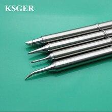 Ksger 電子はんだごて 220v 70 ワット T12  BC1 T12 BC3 JL02 C08 はんだごてヒントはんだのための FX9501 はんだステーション