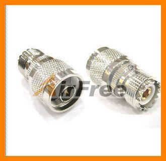 SO239 UHF Female To N Male Socket Adaptor UHF-F To N-M For Yaesu FT-7800 FT-7900R