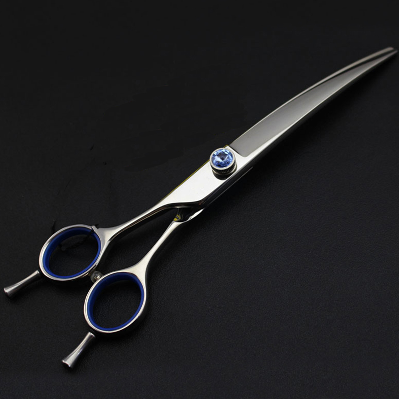 7inch Left Hand Available Double Tail Curved Scissor Barber Supply Grooming Shear Professional High Quality