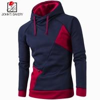2017 New Fashion Hoodies Brand Men Color Suture Sweatshirt Male Men S Sportswear Hoody Hip Hop