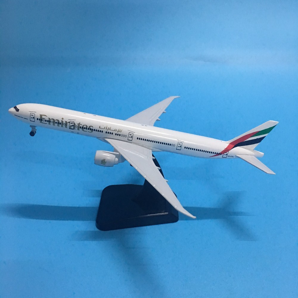JASON TUTU Plane Model Airplane Model Emirates Boeing 777 Aircraft Model 1:200 Diecast Metal 20cm Airbus A380 Airplanes Plane