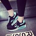 Zapatos corrientes de las mujeres zapatillas de deporte Ligero Femenino Al Aire Libre Atlético aire Amantes de Lona walking sport tenis Entrenadores zapatos