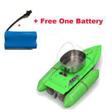 New T10 Bait Boat Lure Fishing RC Anti Grass Wind Remote Control+6400mAh Battery