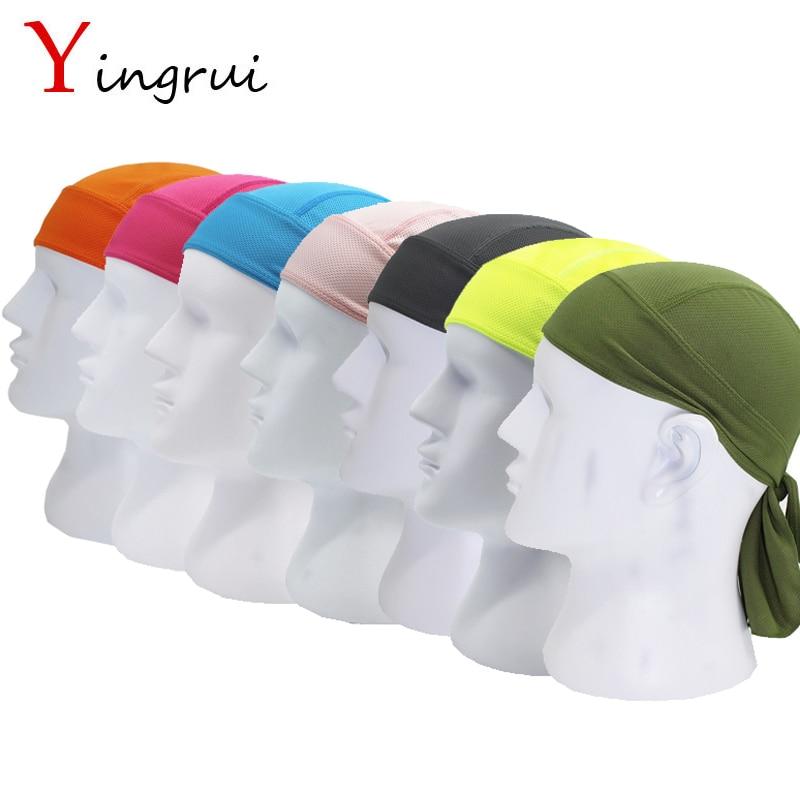 Outdoor Sport Sunscreen Multi Head Scarf Magic Headband Bandanas Face Mask Beanies Skullies Cold Pirate Men Cycling Bicycle Cap