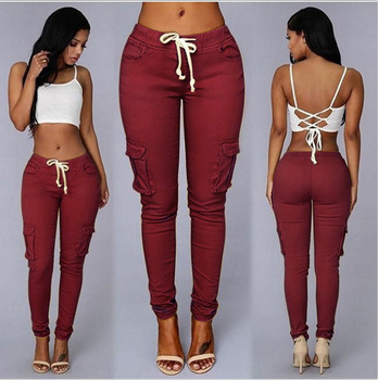 Elastic Sexy Skinny Pencil Jeans For Women Leggings Jeans Woman High Waist Jeans Women's Thin-Section Denim Pants 11