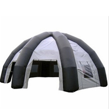 High quality customized camping tent inflatable tent with widows for exhibition event