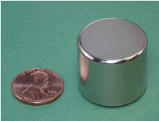 NdFeB Disc Magnet 1 dia.x7/8 thick Neodymium Permanent Magnets Grade N42 NiCuNi Plated Axially Magnetized ems SHIPPED 1 pack diametrically ndfeb magnet ring diameter 9 53x3 18x3 18 mm 3 8 1 8 1 8 tube magnetized neodymium permanent magnets
