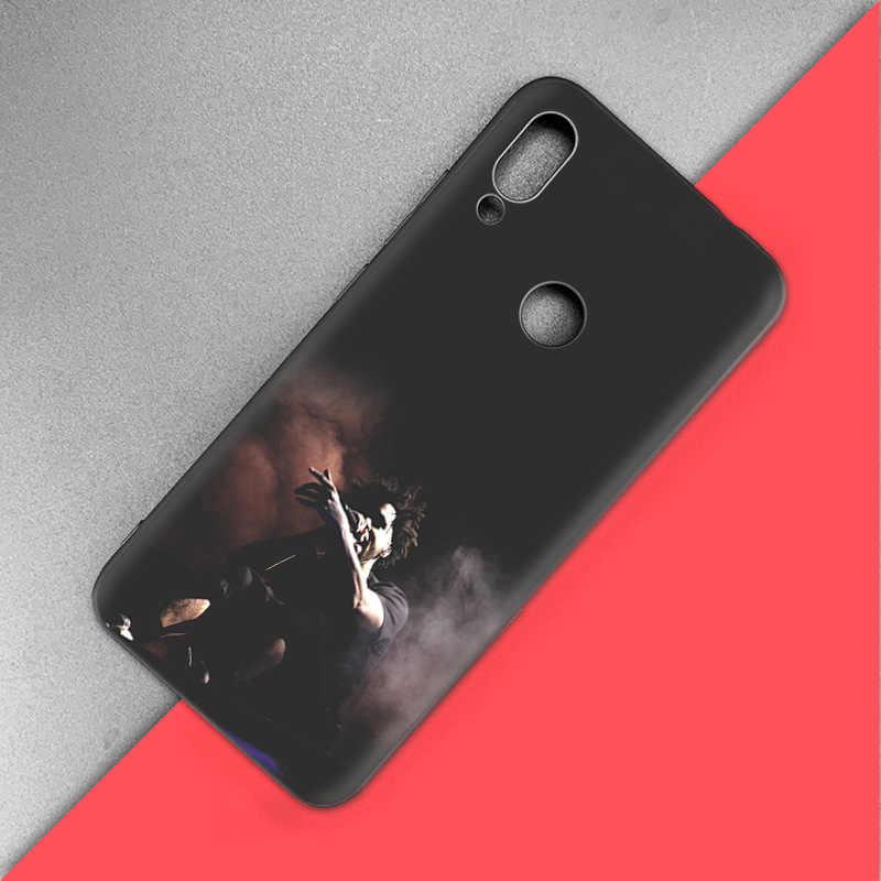 Silikonowy Coque obudowa do Xiaomi czerwony mi uwaga 7 6 5 Pro mi A1 A2 8 Lite 9 iść Poco F1 S2 4 4X Plus raper muzyka Pop