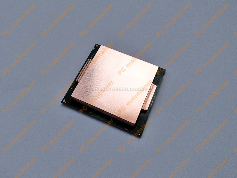 <font><b>Cpu</b></font> pure copper top cover <font><b>CPU</b></font> cooler 3770k 4790k 6700k7700k 8700k <font><b>1151</b></font> interface open cover protector image