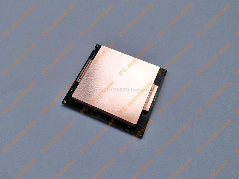 Cpu Pure Copper Top Cover CPU Cooler 3770k 4790k 6700k7700k 8700k 1151 Interface Open Cover Protector