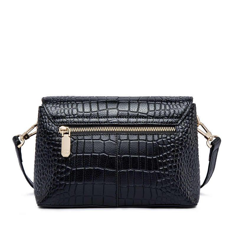 b509bc14e500 ZOOLER genuine leather bags women 2019 crossbody bag shoulder messenger bag  fashion tote bag Cow purses bolsa feminina#L118