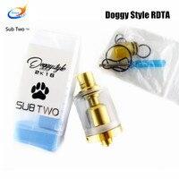 Бестселлер SXK стиль Doggy стиль электронная сигарета 316 из нержавеющей стали RDTA испаритель rda DIY качество бак электронный сигаретный бак