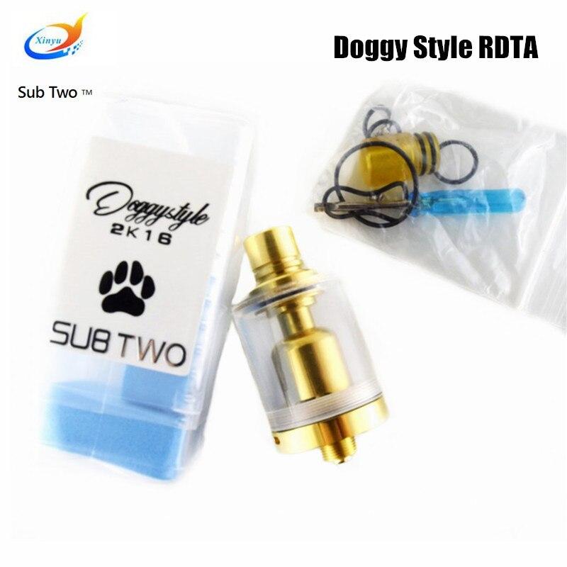 Best venditore SXK Stile Doggy Stile di E-Sigaretta In Acciaio Inox 316 RDTA RDA Vaporizzatore FAI DA TE di Qualità serbatoio sigaretta elettronica dal carro armato