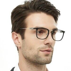 Image 3 - Korean Fashion Eye Glasses Frame Clear Lens Optical Eyeglasses Black Blue Eyewear Frames Spectacle for Men OCCI CHIARI OC2002