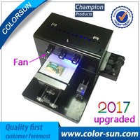 No Coating Automatic A4 UV Flatbed Printer Smallest Uv Flatbed Printer