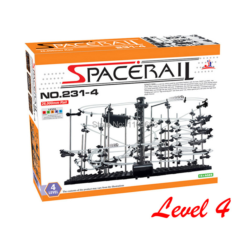 Hot Selling Level 4 Spacerail DIY Toy Best Present for Child or Adult No 231 4