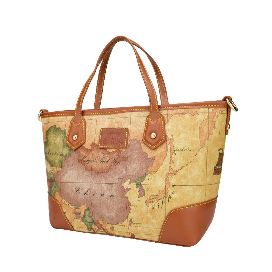 World map bags brand path decorations pictures full path decoration handbag high capacity school bags brand design tote bag casual shoulder bags hc z pu leather vintage world map printed handbag verkadi com pu leather gumiabroncs Images