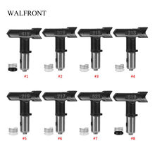 WALFRONT Spray Gun Tip Tungsten Steel Paint Sprayer Head Spraying Tools Seal Nozzle for Painting Garden Power Tools Set(China)