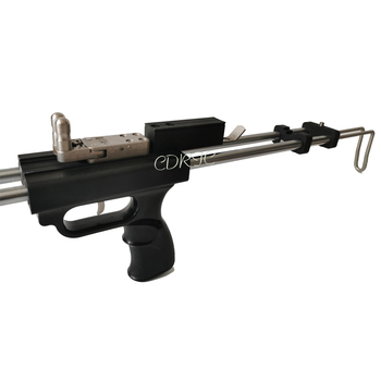 Black Wolf Rifle Slingshot Hunting Catapult Powerful Stainless Slingshot For Outdoor Hunting Shooting Double Safety Device CNC 4