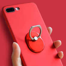 New Style To Sale Oval Cell Phone Ring Holder 360 Degree Rotation Ring Stand Kickstand Replacement for iPhone(China)