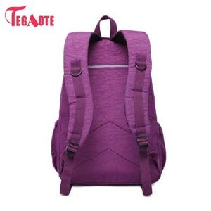 Image 3 - Tegaote 십대 소녀를위한 학교 배낭 mochila feminina 여성 배낭 나일론 방수 캐주얼 노트북 bagpack 여성 sac a do
