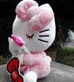 Nueva llegada sanrio bebé de juguete 20 cm hello kitty juguetes de peluche kawaii cat dolls muñeca de peluche de dibujos animados muñecas gatito celebración almohada cat