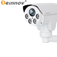 EINNoV PTZ IP Camera 2MP 4X Optical Zoom Lens Ip Ptz Bullet Camera With Audio Infrared